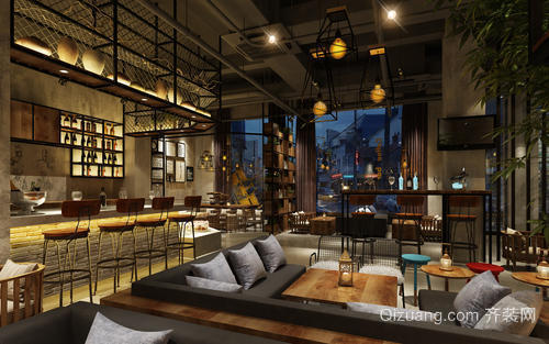 诸暨咖啡厅装修注意事项之景观