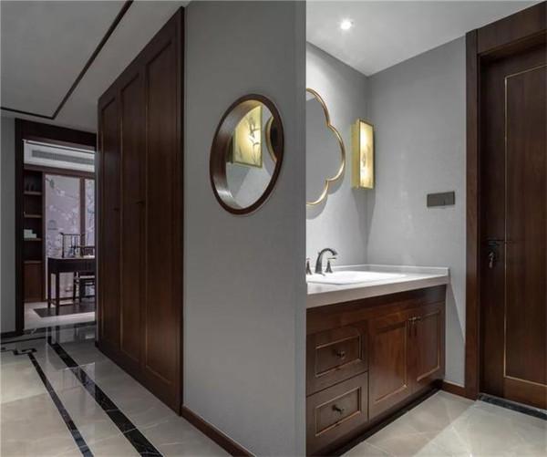 绍兴140平米新中式风格装修卫生间效果图
