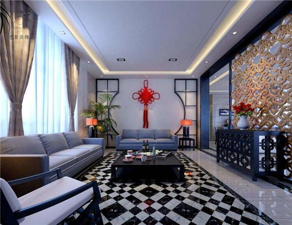 南京大业美家装饰混搭风格设计案例