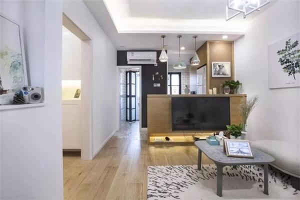 南京60平方老房装修客厅设计效果图