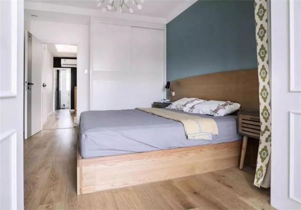 南京60平方老房装修主卧设计效果图
