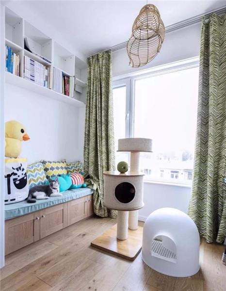 南京60平方老房装修主卧阳台设计效果图