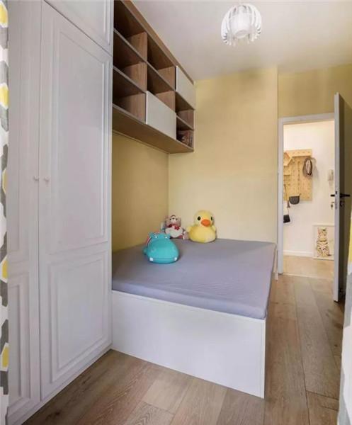 南京60平方老房装修次卧设计效果图