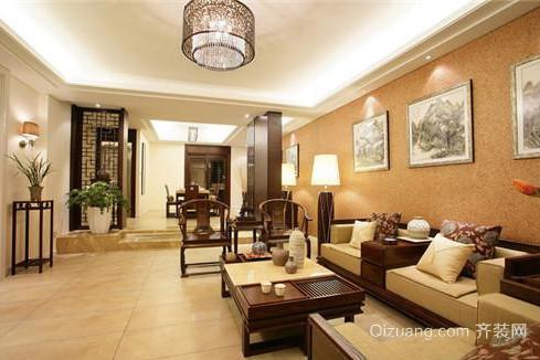 中式别墅装修案例2