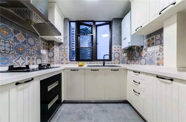 93平米2室一厅装修厨房效果图
