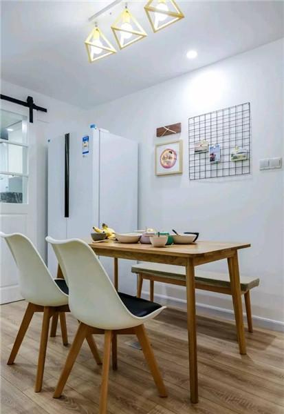 93平米2室一厅装修餐厅效果图
