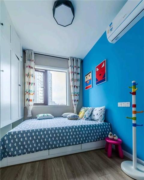 93平米2室一厅装儿童房效果图