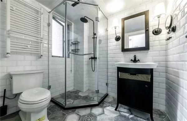 93平米2室一厅装修卫生间效果图