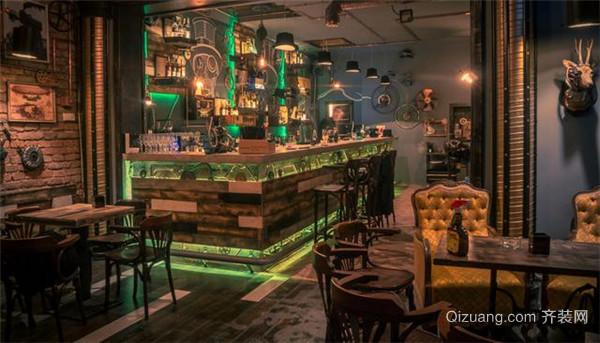 杭州酒吧装修门面设计