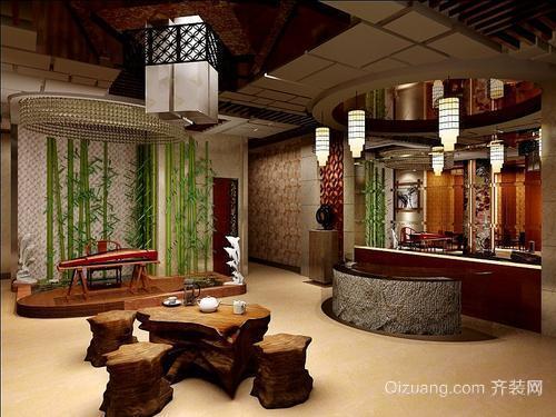 茶楼装修设计技巧之位置