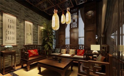 茶楼装修设计技巧之家具