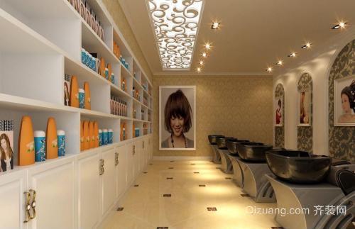 美发店装修设计技巧之接待区