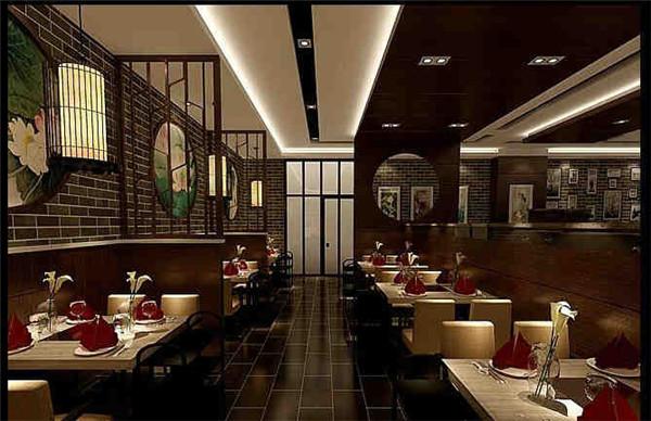 绍兴餐厅装修设计效果图