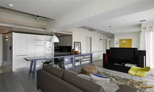 181平米三居室装修客厅效果图