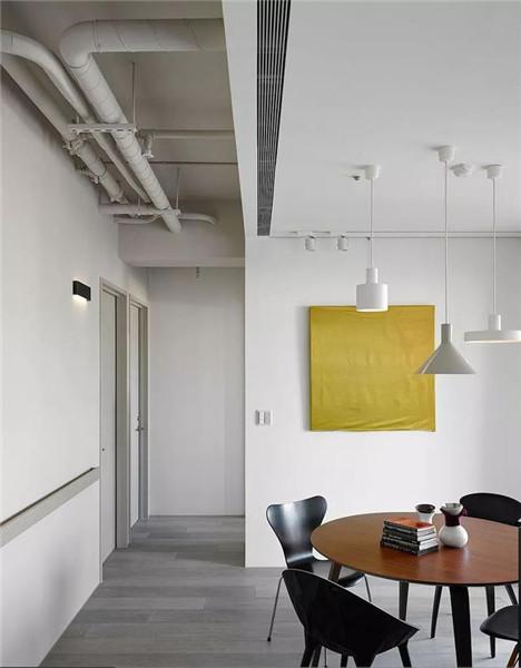 181平米三居室装修餐厅效果图