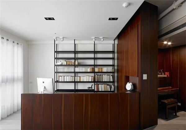 181平米三居室装修书房效果图