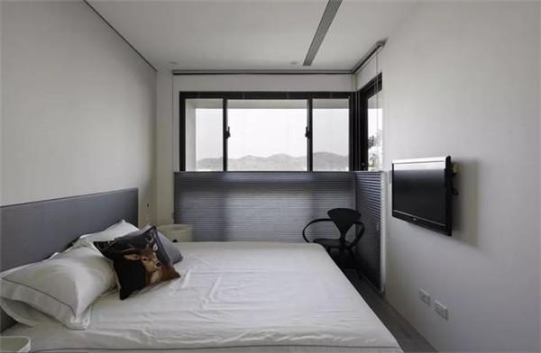 181平米三居室装修卧室效果图