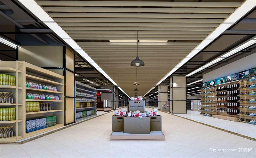 南通超市装修效果图3