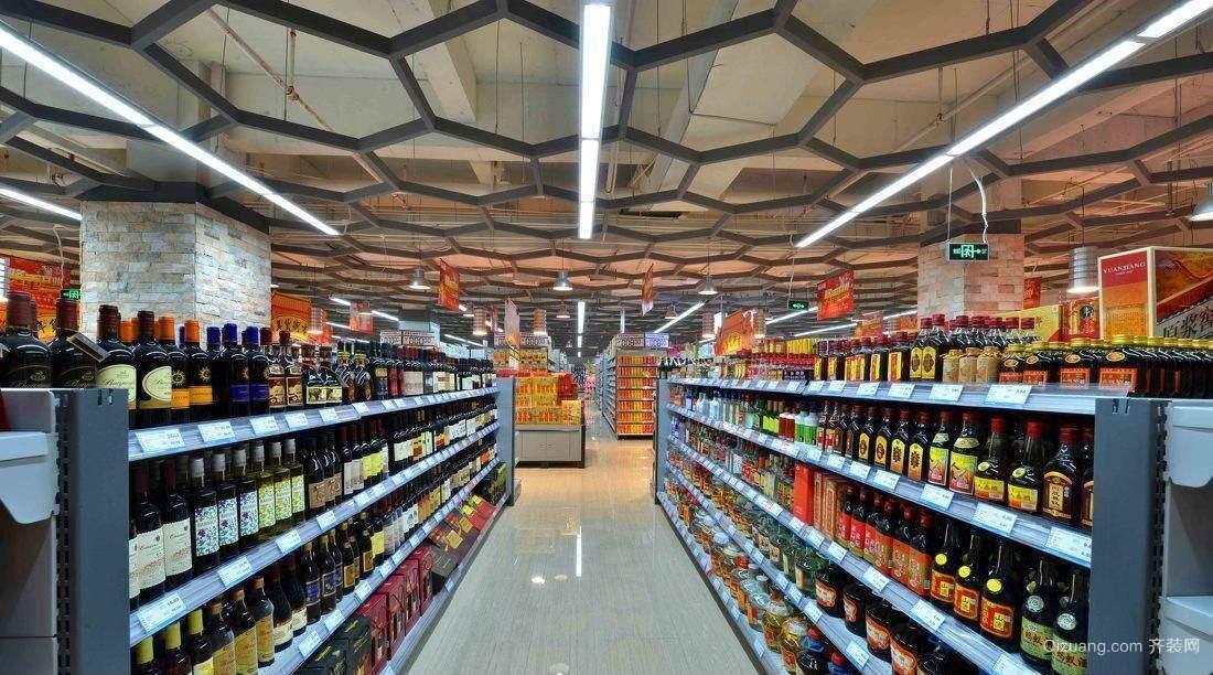 南通超市装修效果图1
