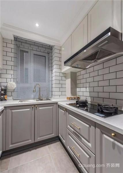 梧州88平小三房简装厨房效果图