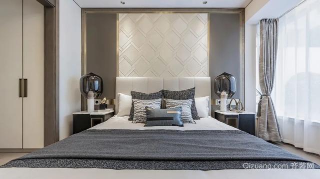 现代轻奢风卧室装修效果图