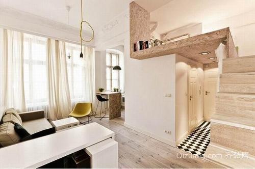 长兴公寓装修传统经典风格设计