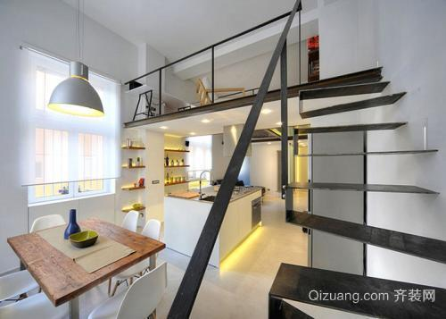 长兴公寓装修现代时尚风格设计
