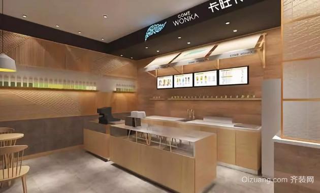 章丘奶茶店裝修多少錢