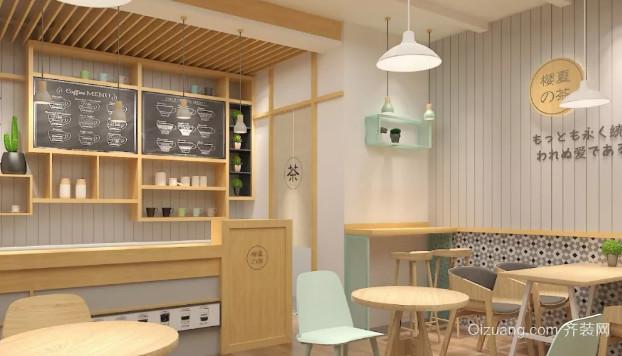 章丘奶茶店裝修