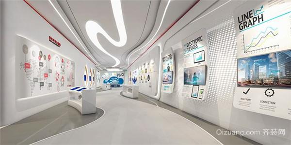 南京展厅装修设计效果图3