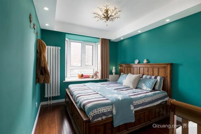 现代美式风卧室装修案例