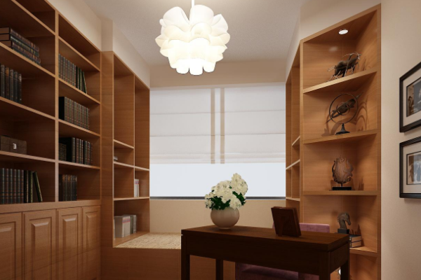 书房灯具怎么选择 书房用多少瓦的灯合适 书房装什么灯对眼睛好