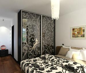现代卧室橱柜设计图
