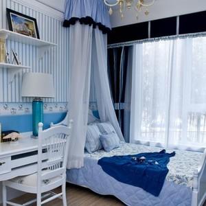 地中海风格卧室效果图