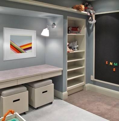 小书房大创意简约书房装修效果图
