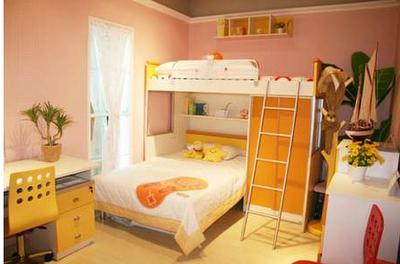 兒童雙層床臥室裝修效果圖