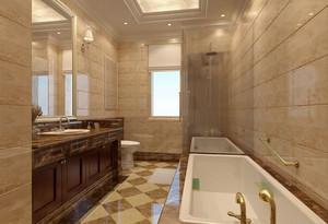 別墅洗手間裝修效果圖