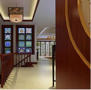 中式新古典楼梯装修效果图