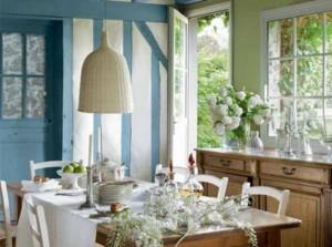 小別墅家庭法式西餐廳裝修效果圖