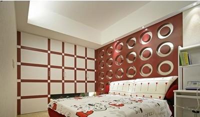 溫馨兒童房臥室兒童床裝修效果圖