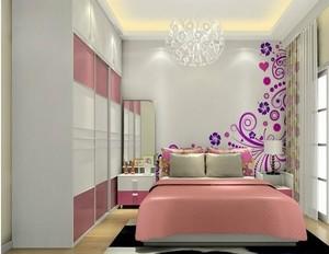 卧室 清新 局部 90平米装修