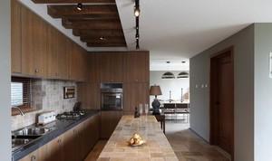 美观大方大户型厨房装修设计效果图