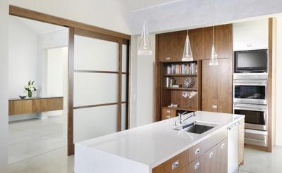 單身公寓簡約廚房裝修效果圖