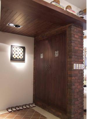 卫生间 复古 玄关 别墅装修