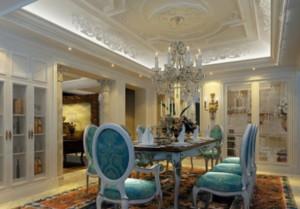 浪漫迷人的法式餐厅装修效果图