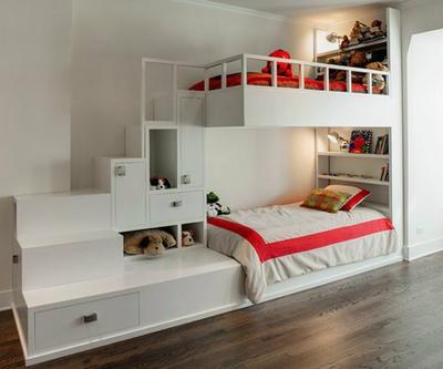 2015輕松愉悅的兒童臥室兒童床裝修效果圖