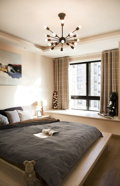 让房间布局错落有致的欧式榻榻米床装修效果图