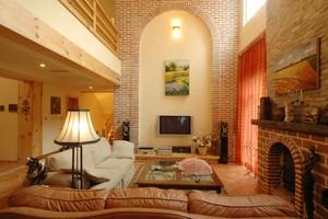 美观不失洋气的乡村别墅客厅装修效果图