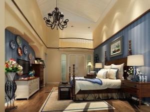 温馨浪漫地中海风格卧室装修效果图