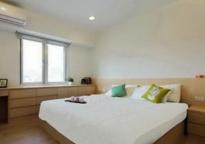 三室一廳日式簡約臥室裝修效果圖